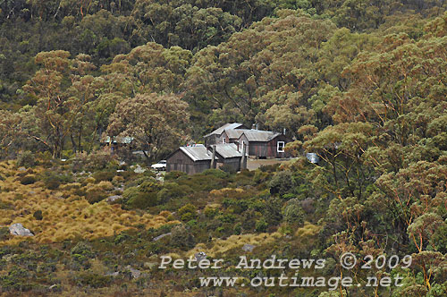 The Government (basic accomodation) Huts, Mt Field National Park. Photo copyright Peter Andrews.