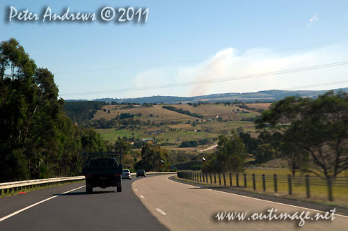 After hours of crawling speeds to get over the Blue Mountains from the coast, the Great Western Highway west of Lithgow finally allowed some distance to be clocked up quickly. Photo copyright Peter Andrews, Outimage Australia.