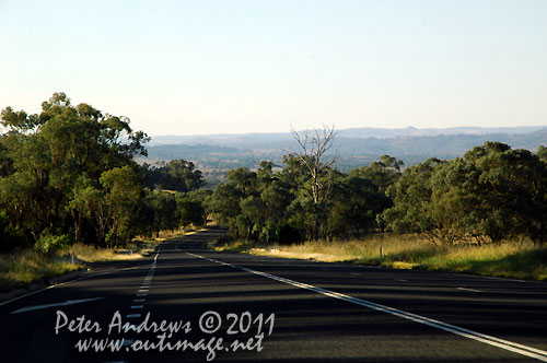 Along the Mitchell Highway, just outside of Wellington, NSW Australia. Photo copyright Peter Andrews, Outimage Australia.