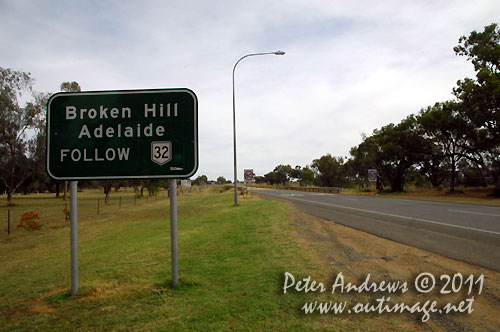 Directions from Nyngan, NSW Australia.  Photo copyright Peter Andrews, Outimage Australia.