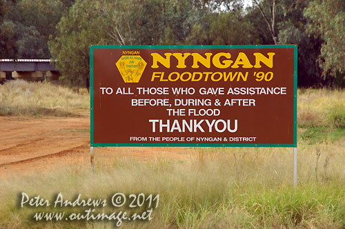 Gratitude from Nyngan, NSW Australia. Photo copyright Peter Andrews, Outimage Australia.