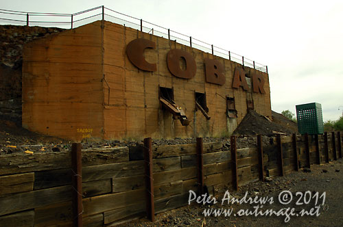 Arrival to Cobar on the Barrier Highway, NSW Australia. Photo copyright Peter Andrews, Outimage Australia.
