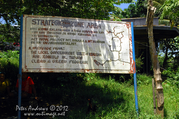 Environmental strategies in the Cotabato Province, Mindanao, Philippines. Photo copyright Peter Andrews, Outimage Australia.