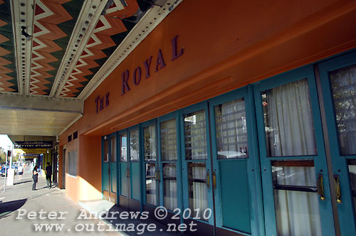 The Royal Theatre on Hunter Street. Photo copyright Peter Andrews, Outimage Publications.