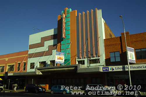 The Royal Theatre on Hunter Street, Newcastle. Photo copyright Peter Andrews, Outimage Publications.