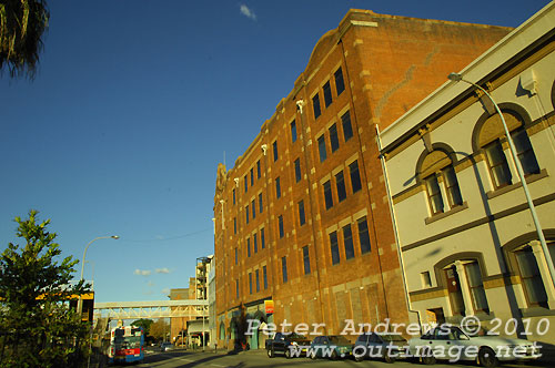 Hunter Street Newcastle. Photo copyright Peter Andrews, Outimage Publications.