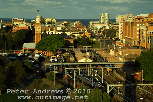 Newcastle Railway Station. Photo copyright Peter Andrews, Outimage Publications.