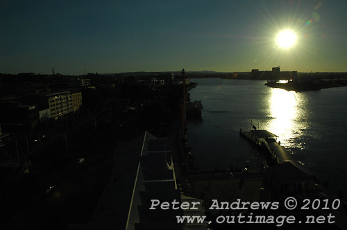 Hunter River Newcastle. Photo copyright Peter Andrews, Outimage Publications.