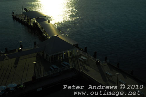 Newcastle waterfront. Photo copyright Peter Andrews, Outimage Publications.