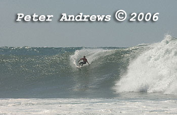 The surf at Sandon Point, Bulli, NSW Australia.