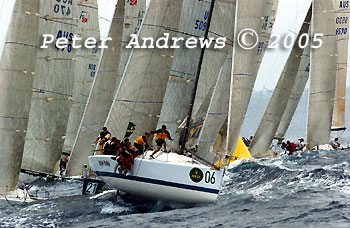 The2005 Rolex Farr 40 Pre World and World Championships.