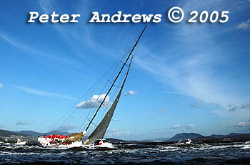 The 2005 Rolex Sydney Hobart Yacht Race.