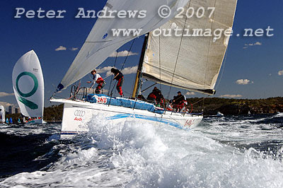 The 2007 Audi Sydney to Gold Coast and Mackay Yacht Race.