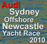 The Audi Sydney Offshore Newcastle Yacht Race 2010 icon.