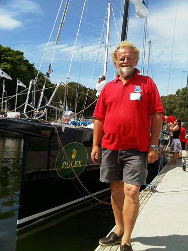 WotEva's new skipper, David Pescud. Photo copyright Sailors with disABILITIES.