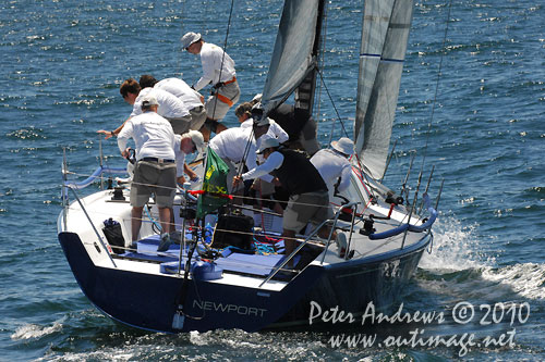 Jim Richardson's Barking Mad from the United States, during the Rolex Trophy One Design Series, Sydney Australia. Photo copyright Peter Andrews, Outimage Australia.
