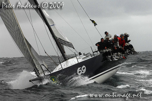 Rob Hanna's TP52 Shogun, during the Rolex Trophy Ratings Series 2009. Photo copyright Peter Andrews, Outimage Australia.