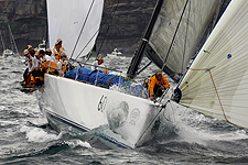 Photos of the Sydney start of the Rolex Sydney Hobart 2010, by Peter Andrews.