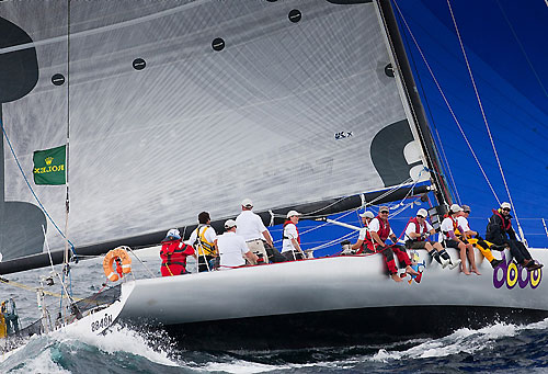 Nick Athineos' Steineman 66 Dodo - The Stick, during the Rolex Sydney Hobart Yacht Race 2010. Photo copyright Rolex and Daniel Forster.