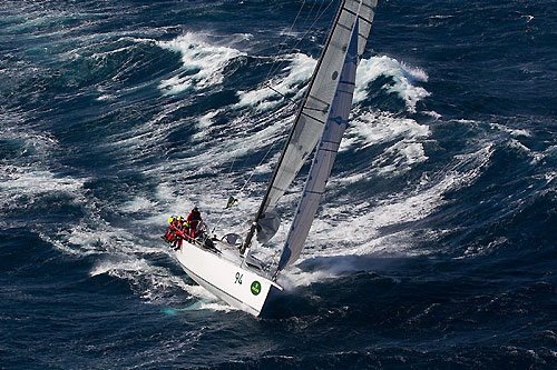 Not to be confused with Andrew Lawrence's Jazz Player, Chris Bull's Cookson 50 Jazz, off the New South Wales south coast, during the Rolex Sydney Hobart Yacht Race 2010. Photo copyright Rolex and Carlo Borlenghi.