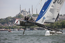 Extreme Sailing Series, Istanbul, Turkey, May 25-29, 2011.