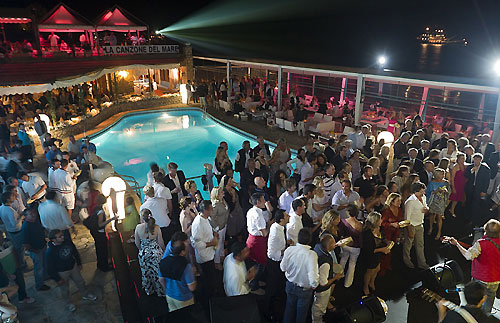 Rolex Dinner at La Canzone del Mare, during the Rolex Capri Sailing Week and Rolex Volcano Race, Capri, Italy. Photo copyright Rolex and Carlo Borlenghi.