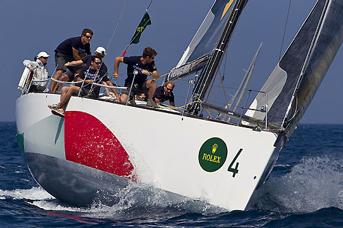 Alberto Franchella's Comet 45 Farewell 3 (ITA), during the Rolex Capri Sailing Week, Capri, Italy. Photo copyright Rolex and Carlo Borlenghi.