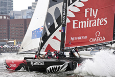 Extreme Sailing Series, Boston, USA June 29 - July 4, 2011.