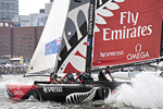 Extreme Sailing Series Act 4, Boston, USA, June 29 - July 4, 2011. Edited by Peter Andrews.