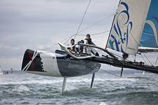 Extreme Sailing Series Act 5, Cowes, UK, August 6-12, 2011.