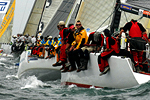 On-water photos of the Rolex Sydney Hobart Start. by Peter Andrews, Monday December 26.