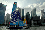 Extreme Sailing Series Singapore Day 2. Click here to access these pages.