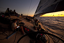 Onboard DSK Pioneer Investments during the RORC Caribbean 600. Photo copyright Stefano Gattini, Studio Borlenghi.