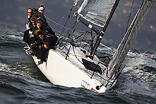 Lerici Italy, March 27, 2010. Day 2 of Audi Melges 32 Sailing Series 20. Photo copyright Guido Trombetta, Studio Borlenghi.