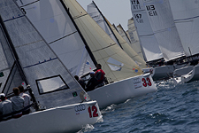 Audi Melges 32 Series, Scarlino Italy May 1, 2010. Photos by Guido Trombetta and Luca Butto'