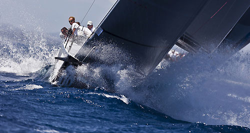 TP52 Training Day, Rán, during the Audi MedCup Circuit 2011, Cagliari, Sardinia, Italy. Photo copyright Guido Trombetta for Studio Borlenghi.