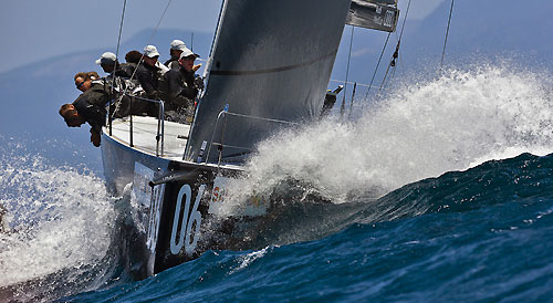 TP52 Series Day 5 - Rán, during the Audi MedCup Circuit 2011, Cagliari, Sardinia, Italy. Photo copyright Guido Trombetta for Studio Borlenghi.