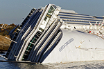 The Costa Concordia, Giglio Island, January 25, 2012. Photos by Carlo Borlenghi.