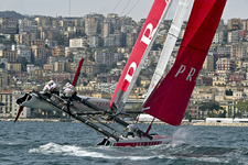 America's Cup World Series Naples, Italy, April 11-15, 2012. Photo Assignment by Carlo Borlenghi for Luna Rossa.