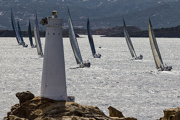 Swan Fleet, during the Rolex Swan Cup 2012. Photo copyright, Rolex and Carlo Borlenghi.
