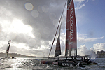 America's Cup World Series, Plymouth, United Kingdom, September 10-18, 2011. Photographic Assignment by Morris Adant.