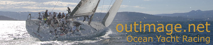 Outimage Ocean Yacht Racing banner.